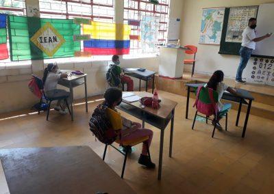 Cerca del 92% de las sedes educativas en caldas se utilizan para el regreso a clases. el 8% restante está en proceso de cumplir las condiciones adecuadas para aplicar protocolos de bioseguridad.